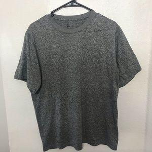 Nike Gray Athletic Short Sleeve T Shirt